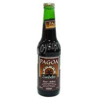 PAGOA Zunbeltz Cerveza vasca negra Botellín 33 cl