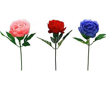 Essencial Vara de peonia artificial surtidas en colores, de 52 cm, para decoración del hogar, essencial