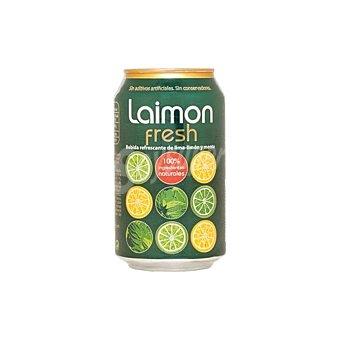 Laimon Fresh Refresco de lima limón y menta Lata de 33 cl