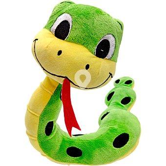 Juguete para perro modelo serpiente verde 56x12x9 cm 1 unidad