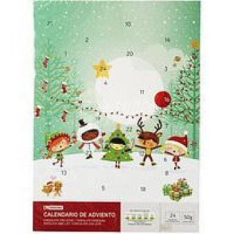 Eroski Calendario Caja 50 g