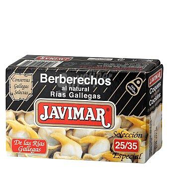 Javimar Berberechos al natural 68 g