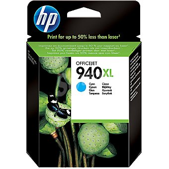 HP Nº 940 XL cartucho color cian