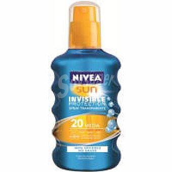 Nivea Sun Crema solar invisible F20 spray 200 ml