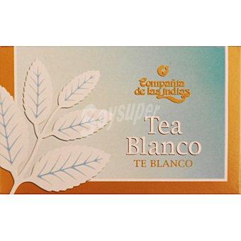 COMPAÑIA DE LAS INDIAS té blanco 20 bolsas Estuche 30 g
