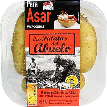 LAS PATATAS DEL ABUELO Patatas para asar microondas Envase 1 kg