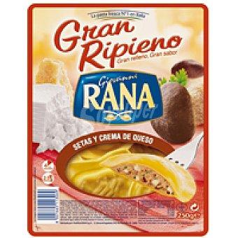 Rana Gran Ripieno de setas-crema de queso Bandeja 250 g
