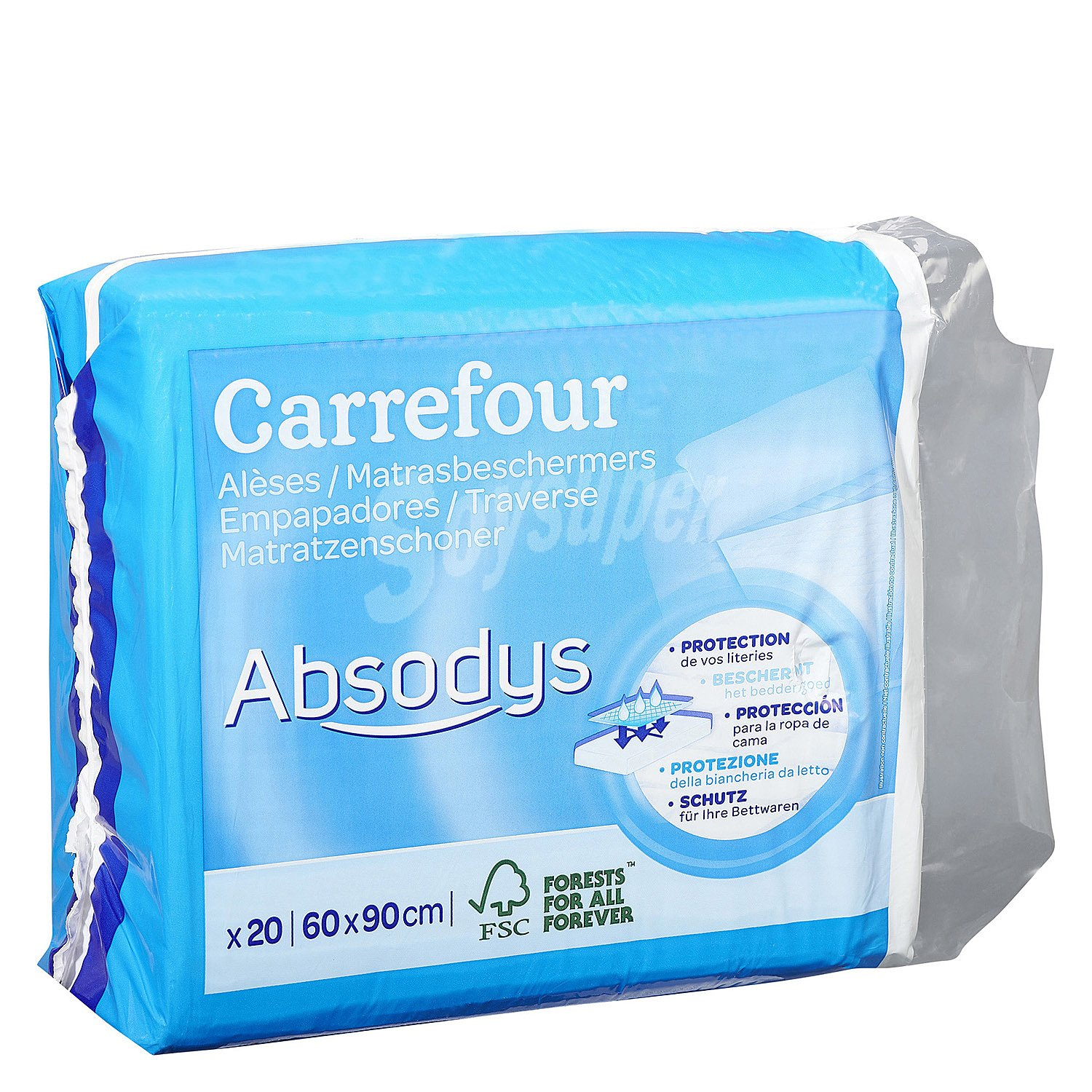 Carrefour Protector Para Adultos 20 Ud 20 Ud