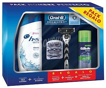 Gillette Estuche de afeitado e higiene personal GILLETE.