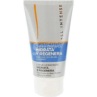 All Intense Crema hidratante para todo tipo de piel hidrata y regenera uso diario Tubo 75 ml