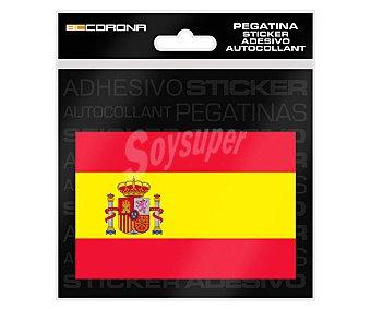 Bccorona Pegatina bandera España, BCORONA.