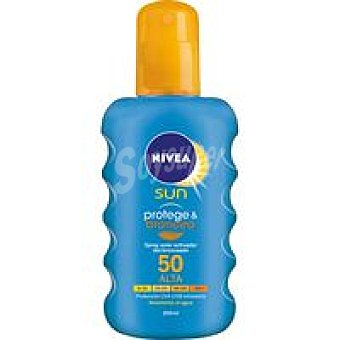 Nivea Sun Spray bronceador FP50 200 ml
