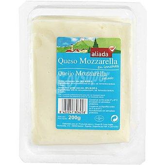Aliada Queso mozzarella en lonchas Envase 200 g