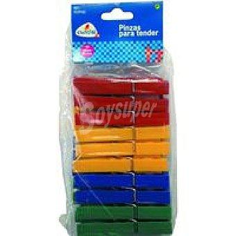 CUNCIAL Pinzas de plástico grandes Paquete 20 unid