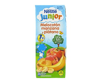 Junior Nestlé Zumo melocotón/manzana/plátano Smoothie 200ml