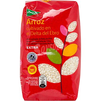 EL CORTE INGLES arroz redondo extra I.G.P. delta del Ebro  paquete 1 kg