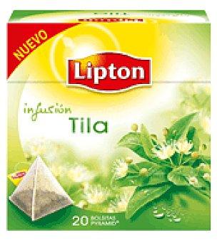 Lipton Tila en pirámides 20 ud