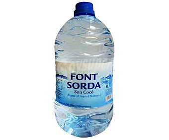 Font Sorda Agua mineral Garrafa de 5 litros
