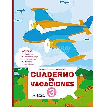 ANAYA Cuaderno de vacaciones repaso 3º primaria