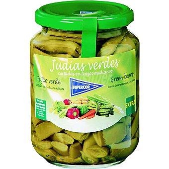 Hipercor Judías verdes extra planas Frasco 350 g neto escurrido