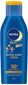Nivea Sun FP 50+ - Crema Solar Niños (protección muy alta, ) 200 ml