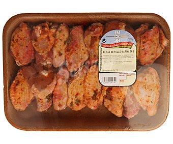 Emcesa Alitas de pollo marinadas Bandeja de 800 gr