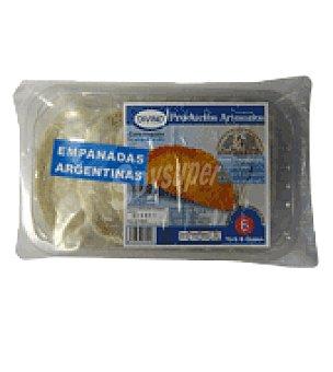 Argentinas Bydivino Empanadas jamón/queso 6 uds 510 g