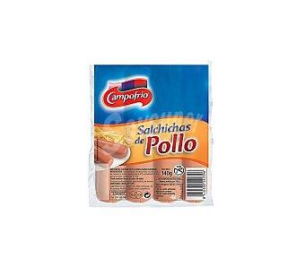 Campofrío Salchichas pollo 140 GR
