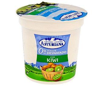 Central Lechera Asturiana Yogur desnatado con kiwi 125 g