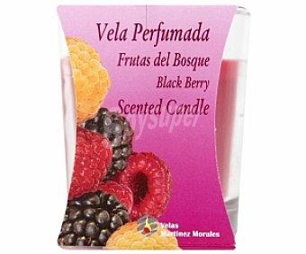 VELAS MARTÍNEZ Vela vaso, perfumada aroma Frutas del Bosque 1 Unidad