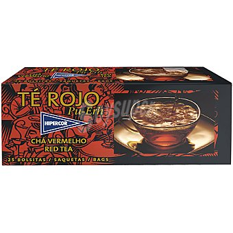 Hipercor té rojo Estuche 25 sobres