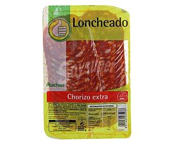 Productos Económicos Alcampo Chorizo extra 200 gramos