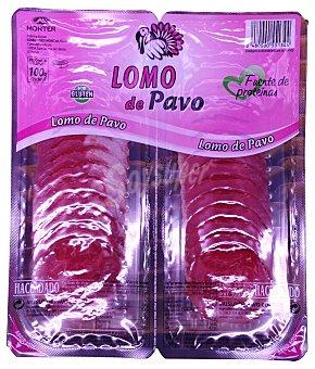 HACENDADO Lomo de pavo a lonchas 2 envases de 50 g