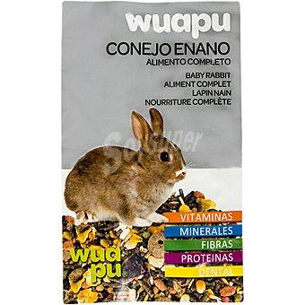 Wuapu Alimento completo para conejos enanos envase 1 kg envase 1 kg