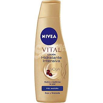 Nivea Body lotion hidratante intensiva Soja para piel madura Vital Frasco 250 ml