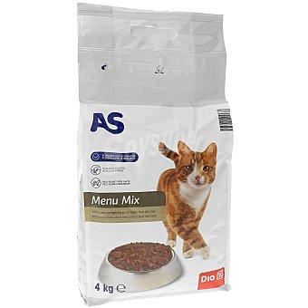 AS Alimento para gatos carne Bolsa 4 kg