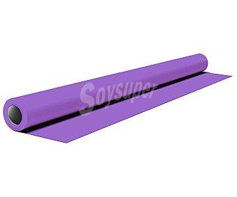 NV CORPORACION Mantel de papel color lila en rollo, 1,20x5 metros 1 unidad