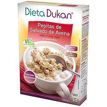 Dieta Dunkan Pepitas de salvado de avena sabor frutas rojas con edulcorante Envase 500 g