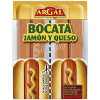 Argal Salchicha para bocata jamón-queso 170 GR