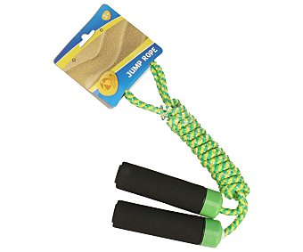 Productos Económicos Alcampo Cuerda de saltar, colores surtidos 1 unidad