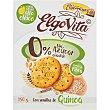 Elgovita galletas con semillas de quinoa con alto contenido en fibra y aceite de girasol alto oleico estuche 150 g Elgorriaga