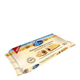 La Bella Easo Milhojas crujientes de crema de cacao y avellanas Pack de 5x25 g