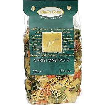 Dalla Costa Pasta tricolor de Navidad Paquete 500 g