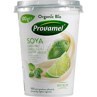 Provamel Bio postre de soja sabor limon con melisa 100% vegetal ecologico Envase 500 g