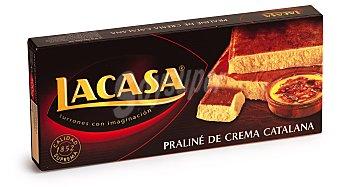 Lacasa Turrón praliné de crema catalana calidad suprema Tableta 225 g