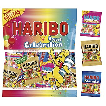 HARIBO golosinas sweet celebration  bolsa 360 gr