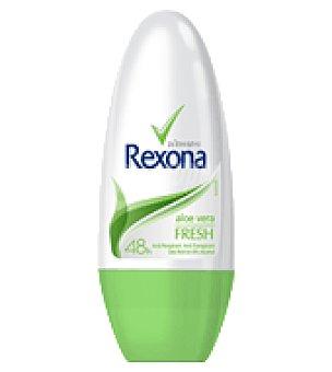 Rexona Desodorante femenino fresh de aloe vera Envase 50 ml