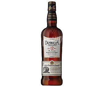 Dewar's Whisky escocés Botella de 70 cl.