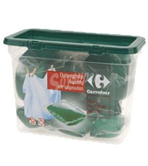 Carrefour Detergente liquido en capsulas 20 lavados