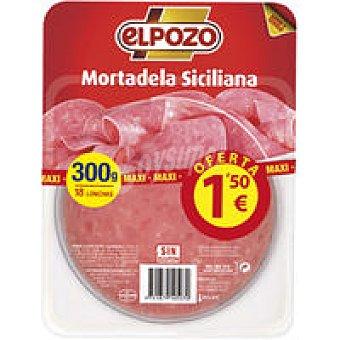 ElPozo Mortadela siciliana Bandeja 300 g